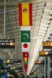 Aeroporto internacional Virgínia de Dulles, EUA foto de stock royalty free