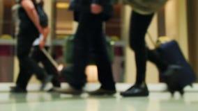 Aeroporto internazionale video d archivio