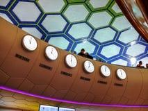 Aeroporto internazionale dell'Abu Dhabi Fotografie Stock