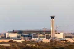 Aeroporto internazionale dell'Oman in Muscat Fotografie Stock