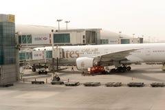 Aeroporto internazionale della Doubai Fotografia Stock