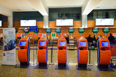 Aeroporto internazionale dello Sheremetyevo Fotografie Stock