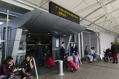 Aeroporto internazionale di Auckland Immagine Stock Libera da Diritti