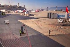 Aeroporto internazionale di Brazilia Fotografia Stock