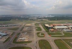 Aeroporto internazionale di Changi Fotografia Stock Libera da Diritti
