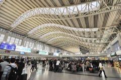 Aeroporto internazionale di Chengdu Shuangliu Fotografie Stock Libere da Diritti