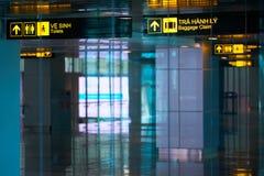 Aeroporto internazionale di Da Nang Immagini Stock Libere da Diritti