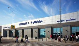 Aeroporto internazionale di Hurghada Fotografie Stock