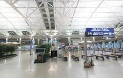 Aeroporto internazionale di Incheon Immagine Stock