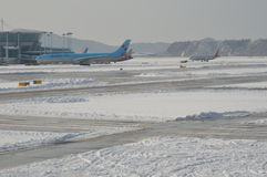 Aeroporto internazionale di Incheon Fotografie Stock Libere da Diritti