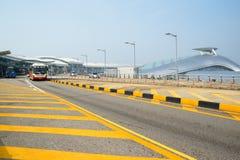 Aeroporto internazionale di Incheon (Seoul, Corea) Immagini Stock