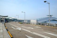 Aeroporto internazionale di Incheon (Seoul, Corea) Immagini Stock Libere da Diritti