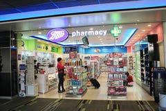 Aeroporto internazionale di Mandalay Immagini Stock