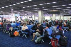 Aeroporto internazionale di Mandalay Immagine Stock