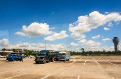 Aeroporto internazionale di Mandalay, Myanmar 3 Immagini Stock Libere da Diritti