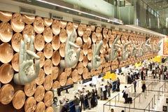 Aeroporto internazionale di Ndira Gandhi Fotografia Stock