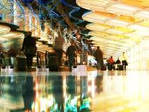 Aeroporto internazionale di Ohare Fotografie Stock Libere da Diritti
