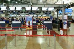 Aeroporto internazionale di Praga Fotografia Stock