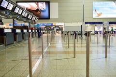 Aeroporto internazionale di Praga Immagine Stock