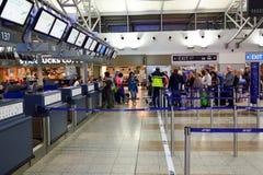 Aeroporto internazionale di Praga Immagini Stock Libere da Diritti
