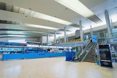Aeroporto internazionale di Ranh della camma all'interno, il Vietnam Fotografia Stock