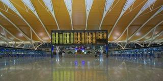 Aeroporto internazionale di Schang-Hai Pudong Immagini Stock