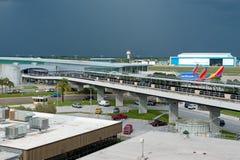 Aeroporto internazionale di Tampa Fotografie Stock Libere da Diritti