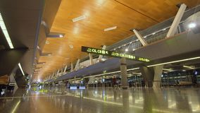 Aeroporto internazionale in Doha, Qatar fotografie stock libere da diritti