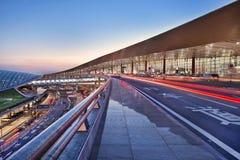 Aeroporto internazionale esteriore del capitale di Pechino Fotografie Stock
