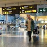 Aeroporto interno Imagem de Stock