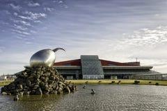 Aeroporto Islândia de Keflavik Foto de Stock
