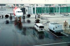 Aeroporto KLIA2 internacional Fotografia de Stock