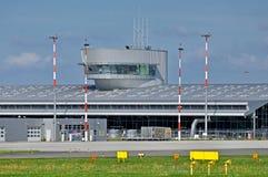 Aeroporto Lodz, Polonia Fotografia Stock Libera da Diritti