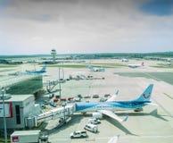 Aeroporto Londres Gatwick Fotografia de Stock