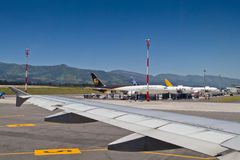 Aeroporto Mariscal do sucre em Quito Imagem de Stock Royalty Free