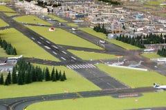 Aeroporto miniatura Fotografia Stock Libera da Diritti