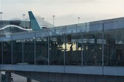 Aeroporto moderno Imagem de Stock