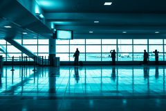 Aeroporto moderno Imagem de Stock Royalty Free