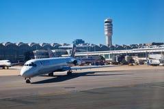Aeroporto nazionale del Ronald Reagan Fotografie Stock Libere da Diritti