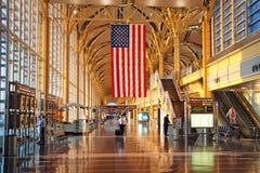 Aeroporto nazionale del Ronald Reagan Washington Immagine Stock Libera da Diritti