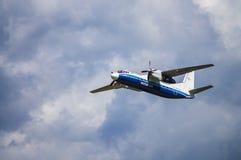 Aeroporto nazionale di Minsk, Minsk, Bielorussia - 6 maggio 2016: Antonov A Fotografia Stock