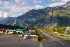 Aeroporto Nepal de Lukla Foto de Stock Royalty Free