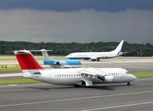 Aeroporto occupato Fotografie Stock