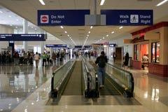 Aeroporto occupato Immagini Stock