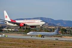 Aeroporto ocupado Fotos de Stock