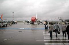 Aeroporto Oslo Foto de Stock Royalty Free