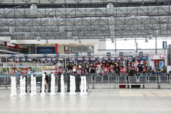 Aeroporto Praga de Vaclav Havel Imagens de Stock