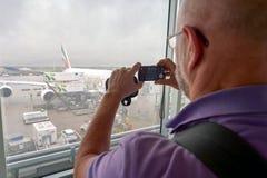 Aeroporto Schiphol de Amsterdão Foto de Stock