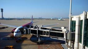 Aeroporto terminal Imagens de Stock
