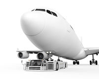 Aeroporto Tow Truck Fotografia de Stock Royalty Free